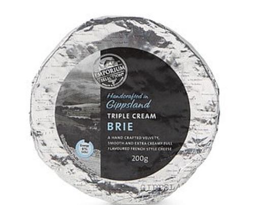 Aldi的Emporium Selection Brie