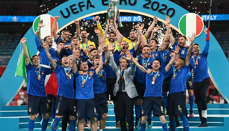 意大利11日击败英格兰赢得2020欧洲国家杯冠军