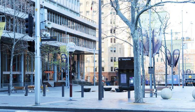 澳洲疫情 悉尼市区