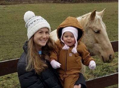 受害者Jessica和她的孩子