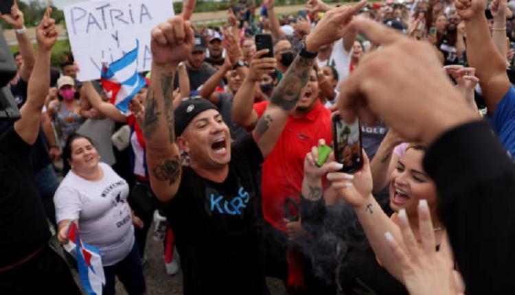古巴抗议浪潮