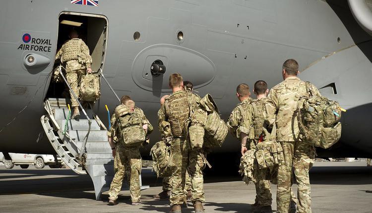 英军, 阿富汗, 撤离