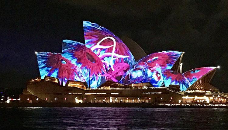 悉尼灯光音乐节,Vivid Sydney,悉尼歌剧院