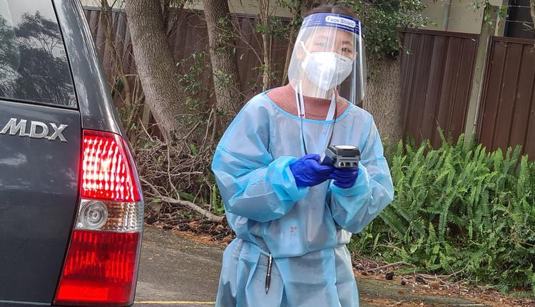 澳洲疫情 检测点