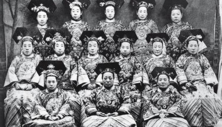 清朝后宫嫔妃