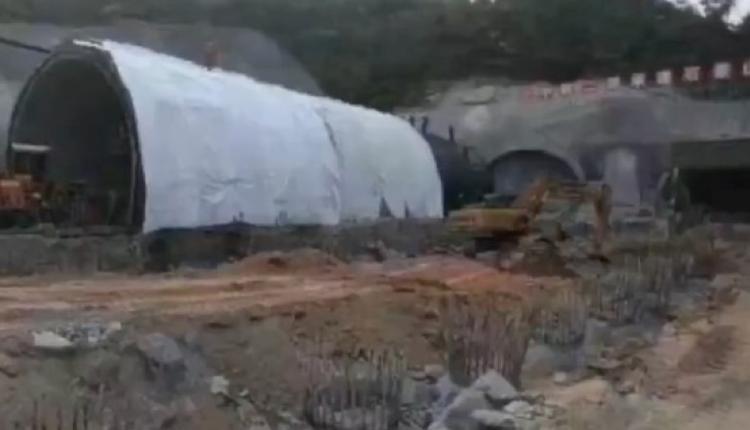 广东珠海兴业快线石景山隧道施工段发生渗水事故