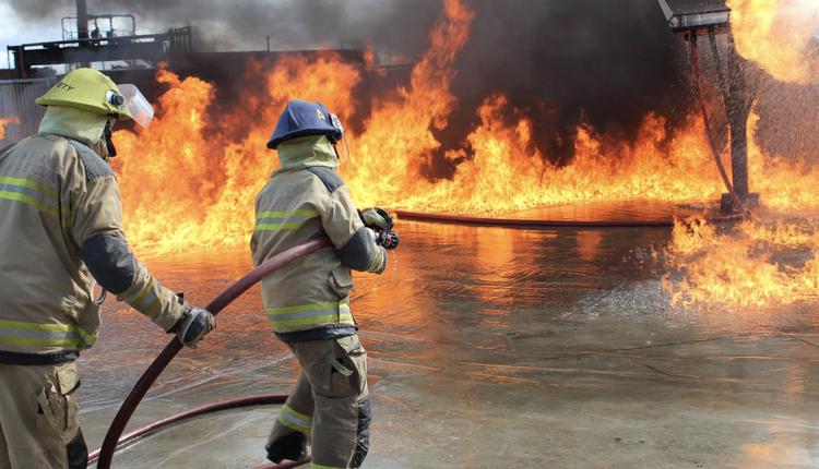 昆州消防员,火灾