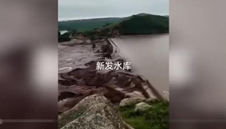 内蒙古呼伦贝尔莫旗境内连降暴雨