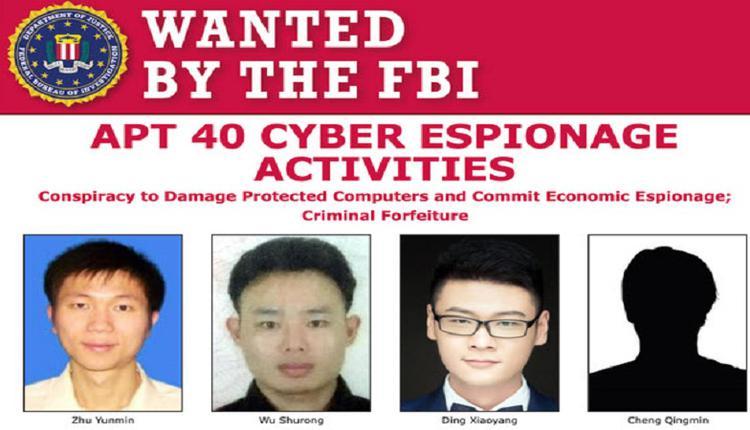 美国起诉4名中国黑客  全部拥有国安背景?