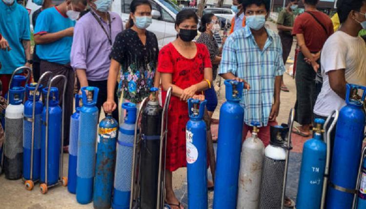 缅甸新冠疫情