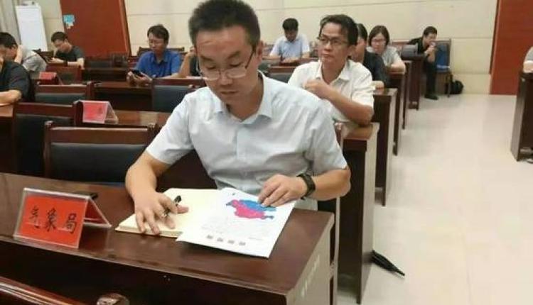 网传巩义市气象局局长赵建彪被洪水冲走