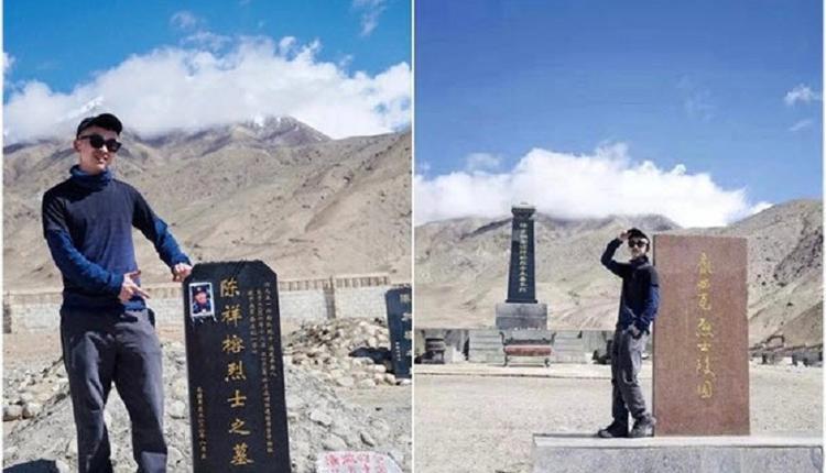 与烈士墓碑合照涉嫌侮辱英烈 旅游博主被捕