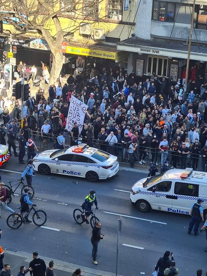 悉尼反封锁抗议活动