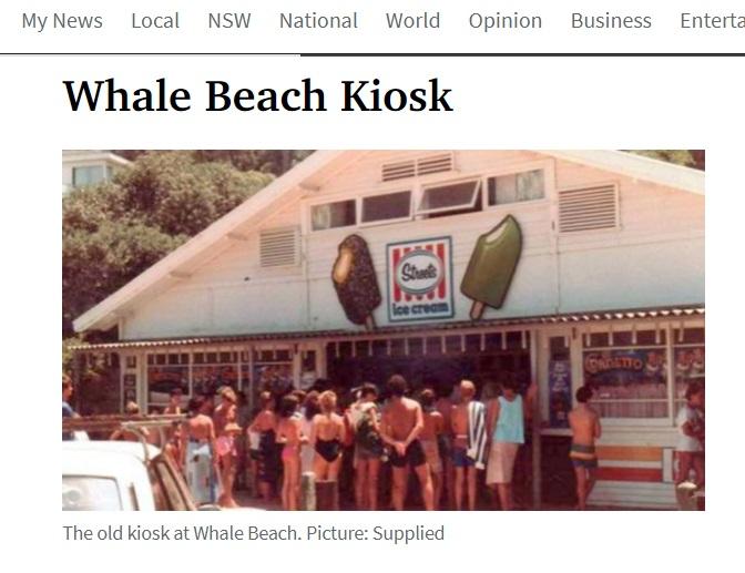 Whale Beach Kiosk