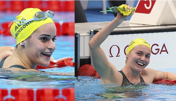 澳洲女子游泳选手