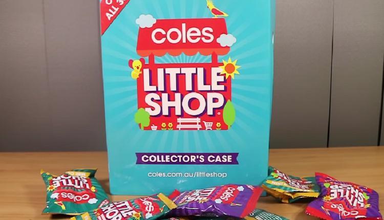 Coles,Little Shop玩具