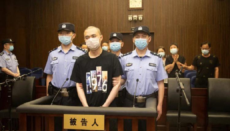 """上海杀妻者被判死刑 受害人家属""""太残忍一尸两命"""""""