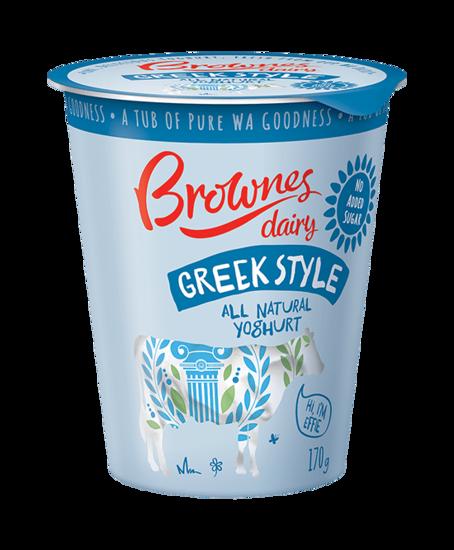 Brownes纯天然希腊酸奶口感醇厚细腻
