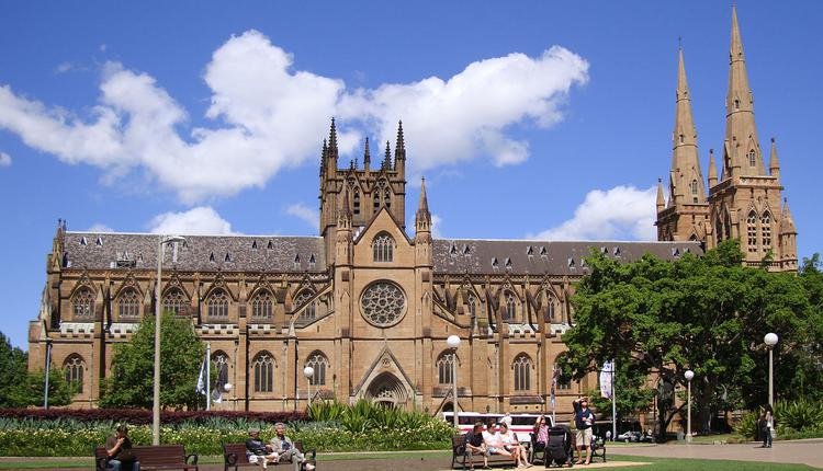 St Mary's Cathedral ,教堂