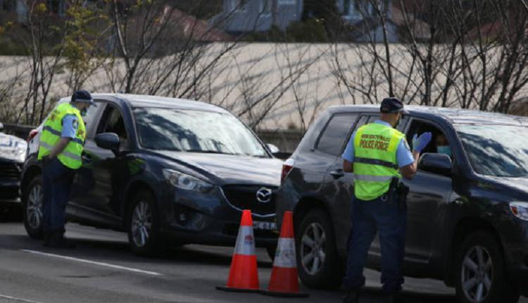 悉尼警察,悉尼封锁,警察检查