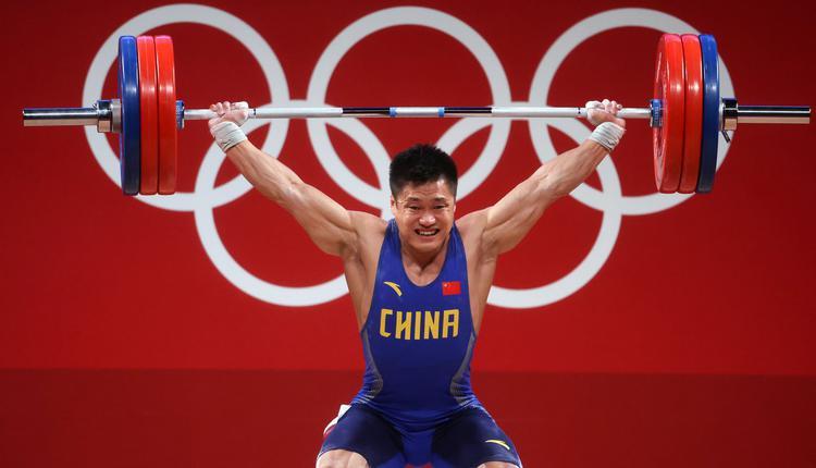 东京奥运 2021奥运 吕小军 举重