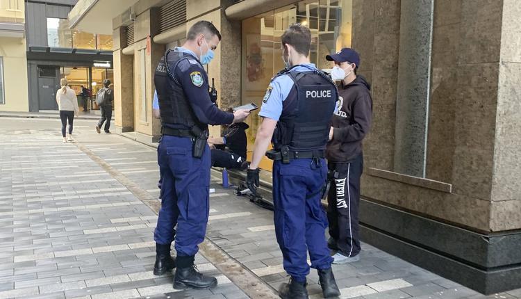 悉尼 警察 澳洲疫情