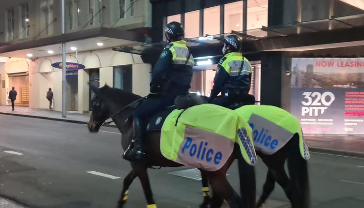 澳洲疫情 警察 马