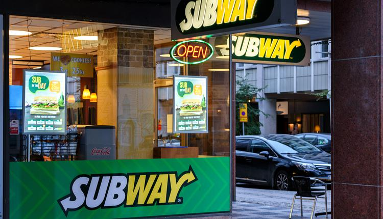 Subway快餐店