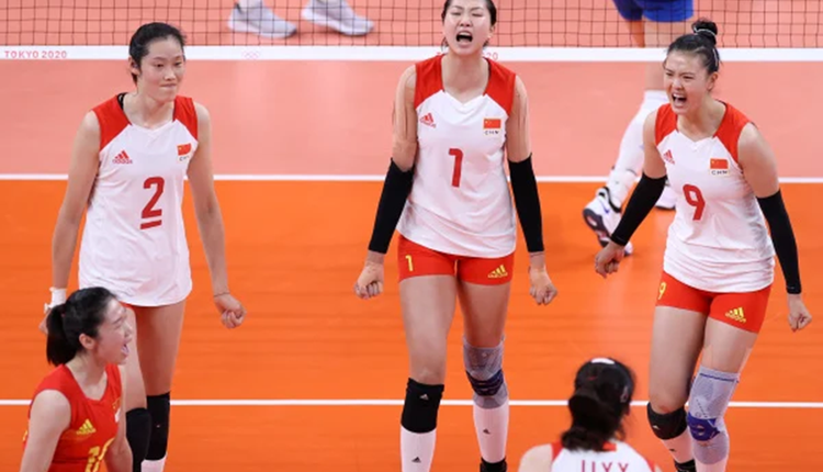 中国女排在东京奥运会上