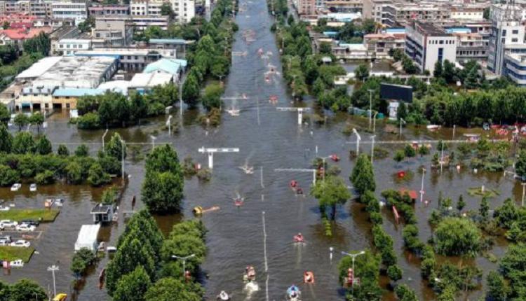 河南,郑州洪灾