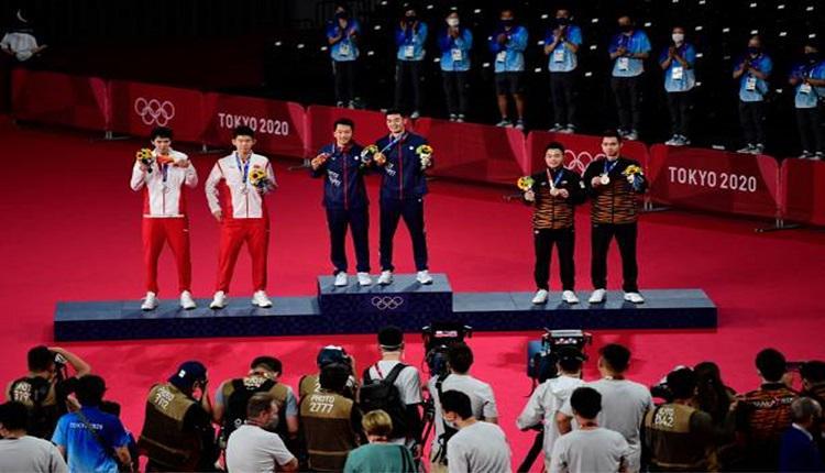 台湾羽球男双东奥得金