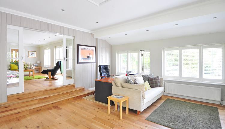 木质地板,客厅