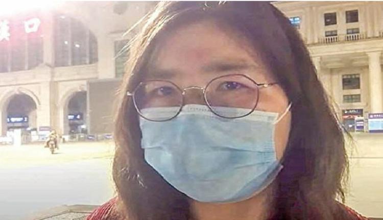 公民记者张展坚称无罪 在狱中绝食抗议 生命垂危