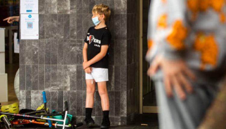 澳洲疫情,学生戴口罩,儿童戴口罩
