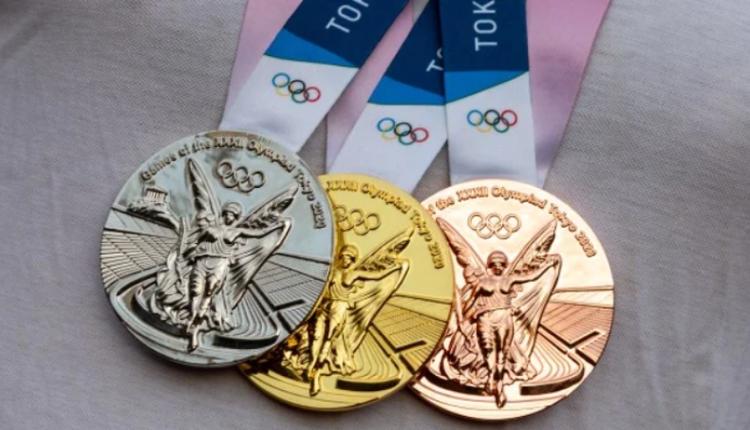东京奥运奖牌