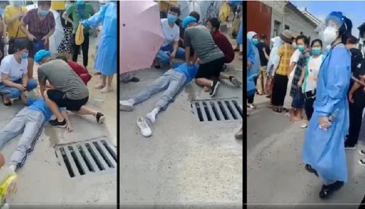 接种疫苗当场死亡的同时 中国民众还要继续接种
