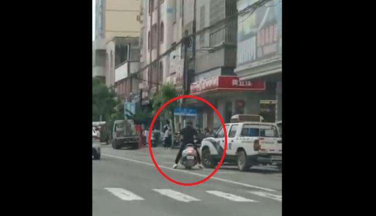 与粗暴执法有关?广州茂名一男子砍死交警