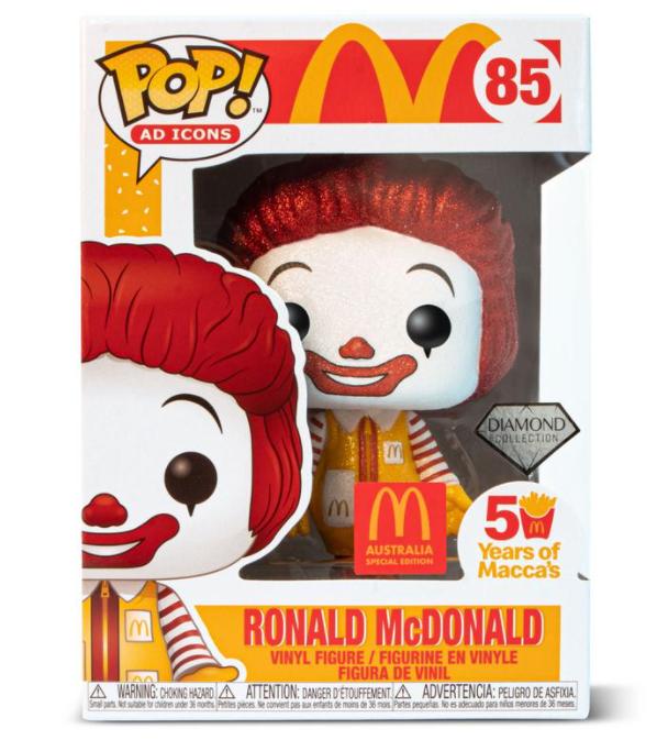 麦当劳叔叔玩偶