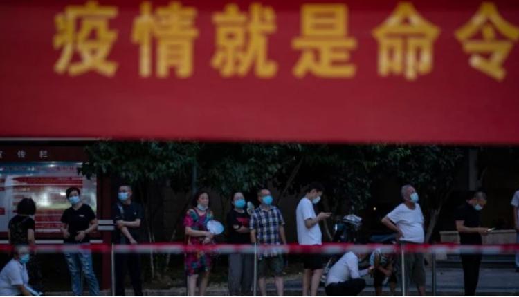 江苏扬州成为这波本土疫情重灾区