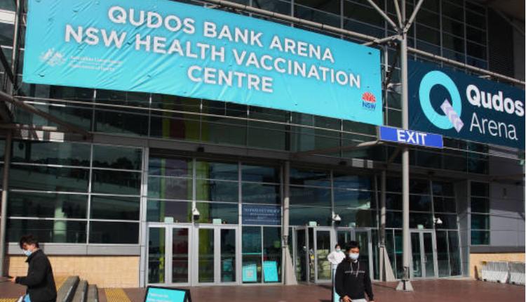 澳洲疫情,Qudos Bank Arena体育场,疫苗接种中心