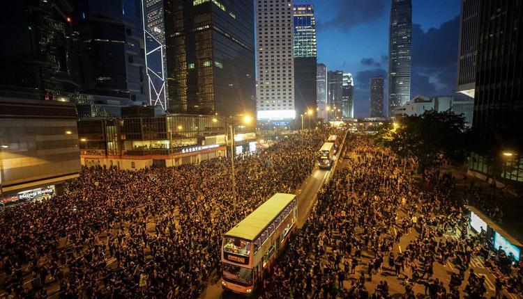 香港民间人权阵线在2019年反送中运动期间,主办多场大游行