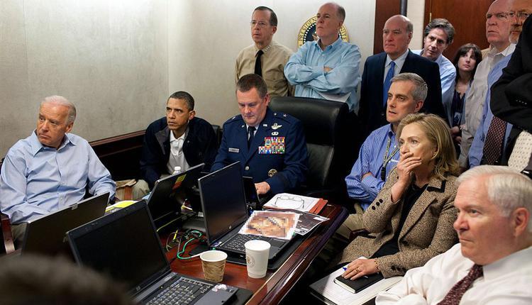 2011年5月2日美国海豹部队狙杀盖达组织首脑本拉登
