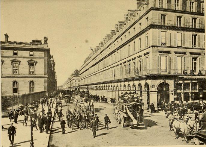 巴黎第一条大道Rue de Rivoli