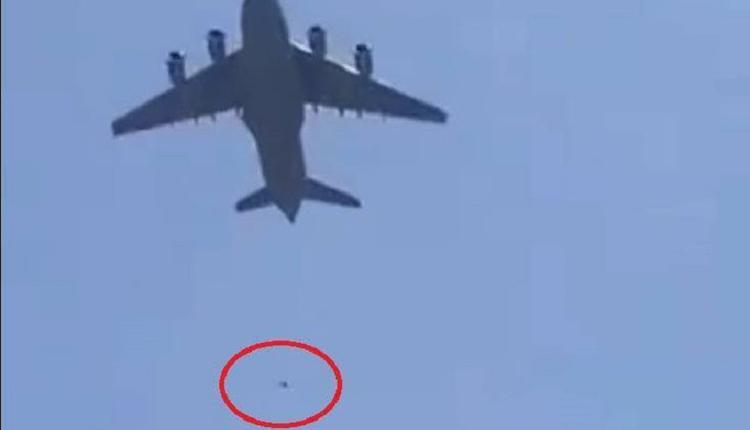 阿富汗民众为逃离 硬爬美国军机 从高空坠地致死