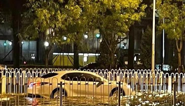 北京暴雨局部地区淹水严重