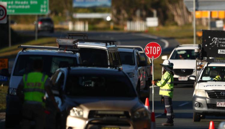 昆州新州边界,澳洲疫情