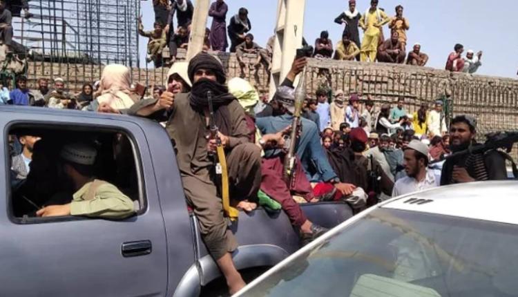 塔利班武装分子攻占阿富汗首都喀布尔
