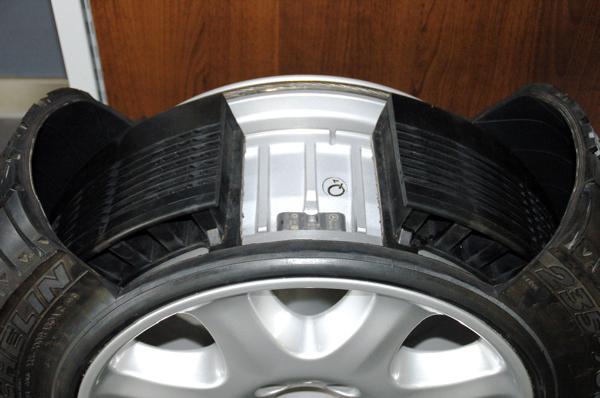 失压续跑胎,Run-flat tires