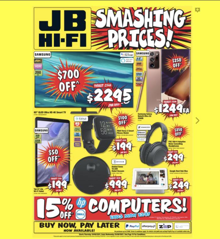 JB Hi-Fi,最新优惠目录
