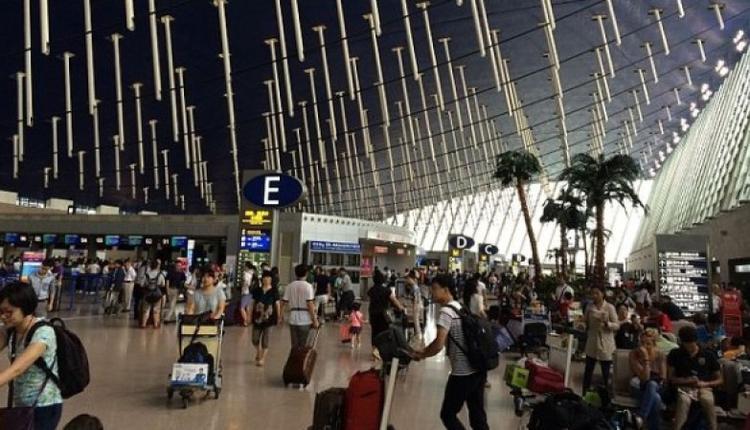 机场示意图